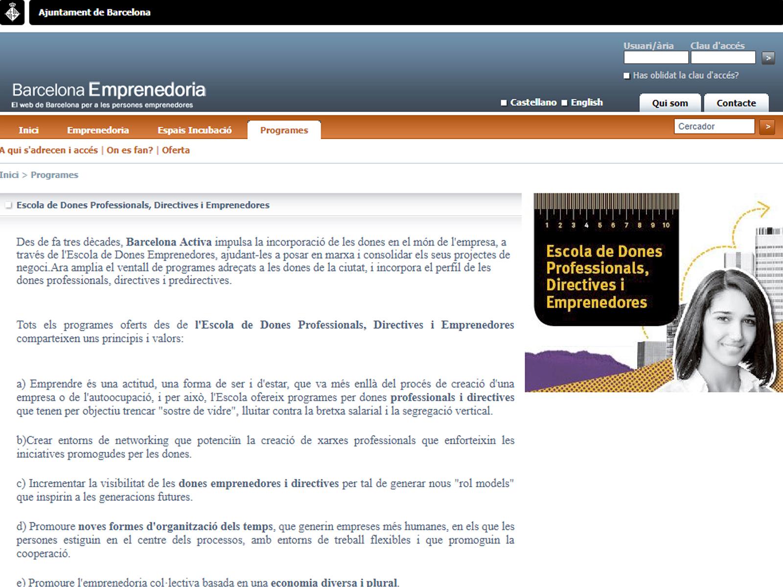 Projecte - Escola Dones Emprenedores - Iuris.doc | Màrqueting de continguts