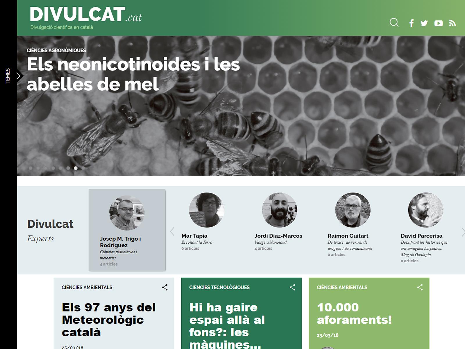 Projecte - Divulcat blogs de ciència - Iuris.doc | Marqueting de continguts
