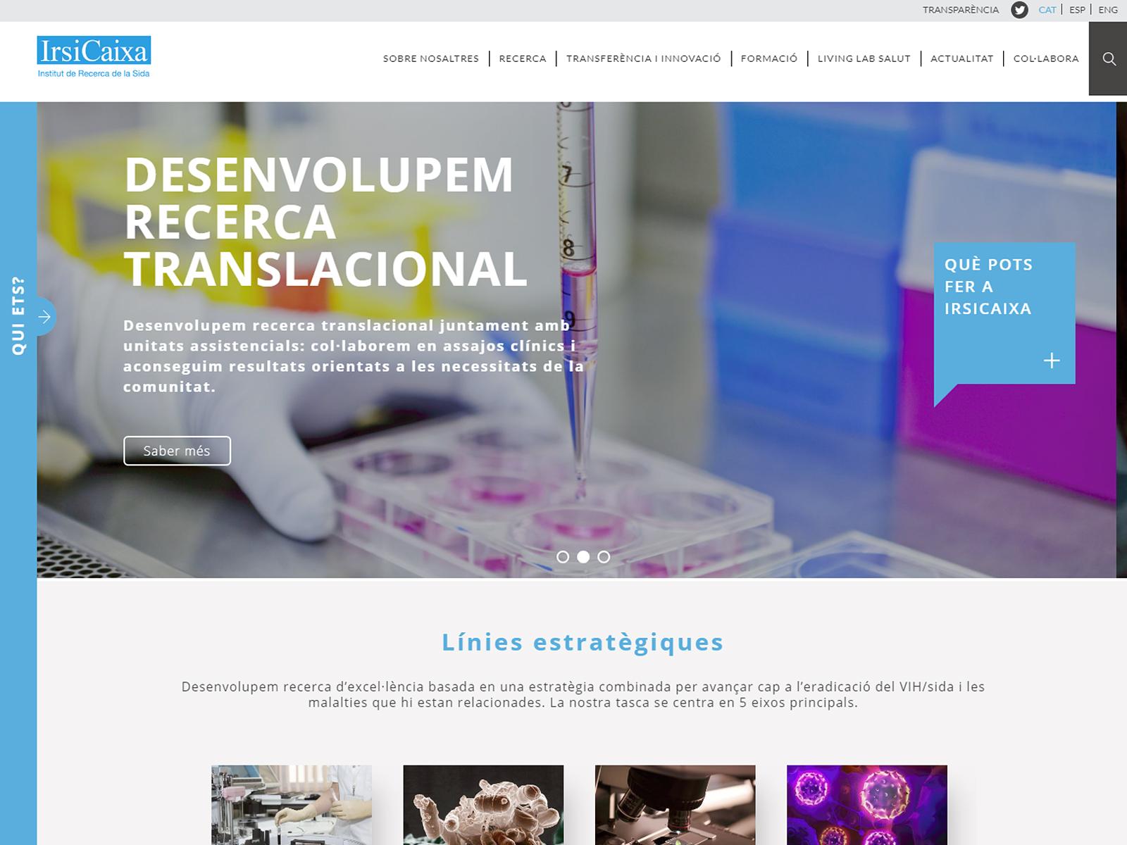 Projecte - Portal web IrsiCaixa - Iuris.doc | Màrqueting de continguts