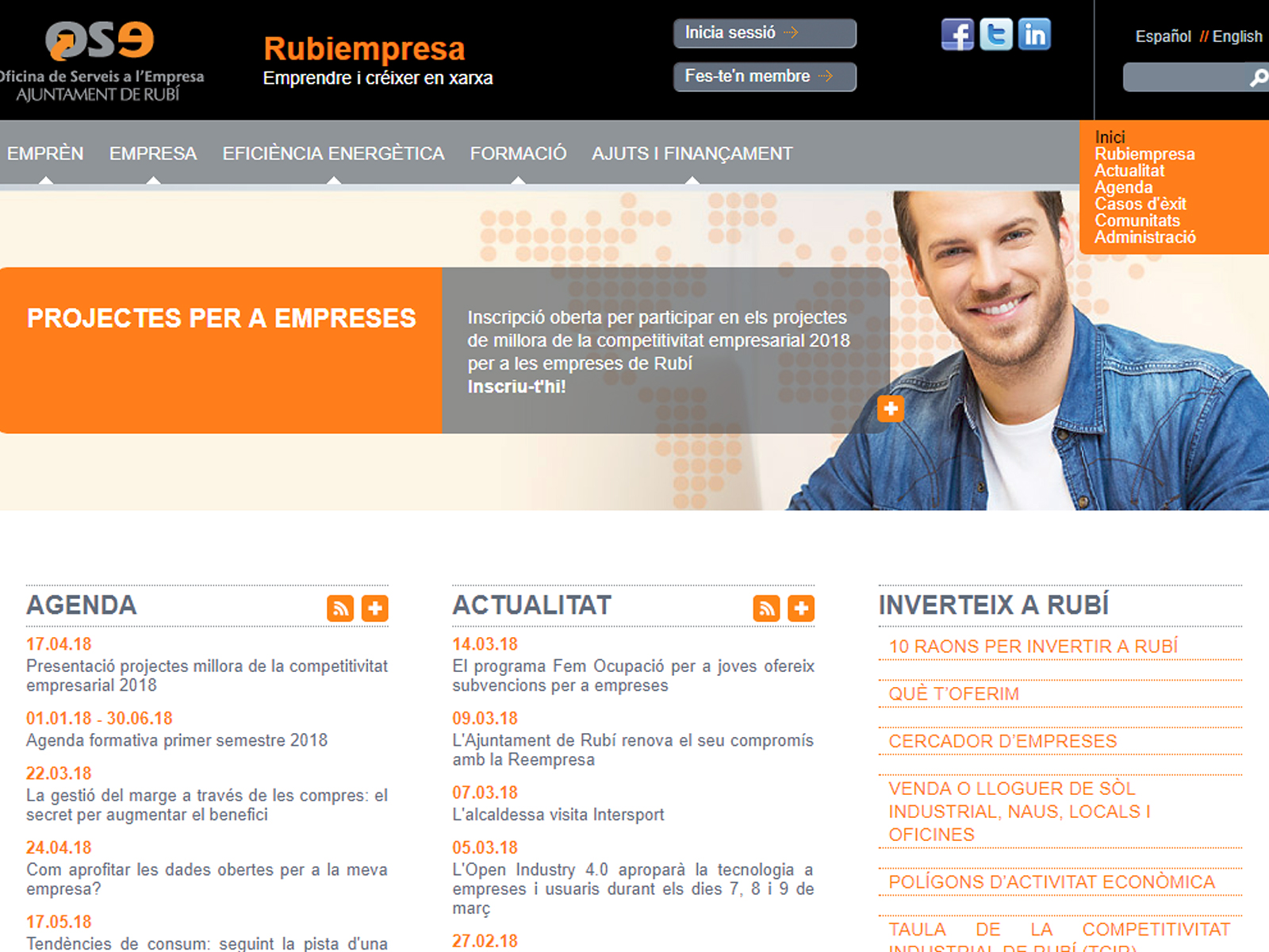 Projecte - Web Rubiempresa - Iuris.doc | Màrqueting de continguts