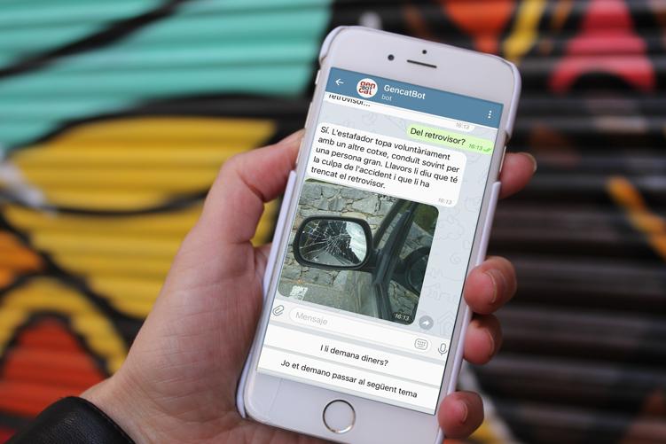 GencatBot, el canal de Gencat a Telegram
