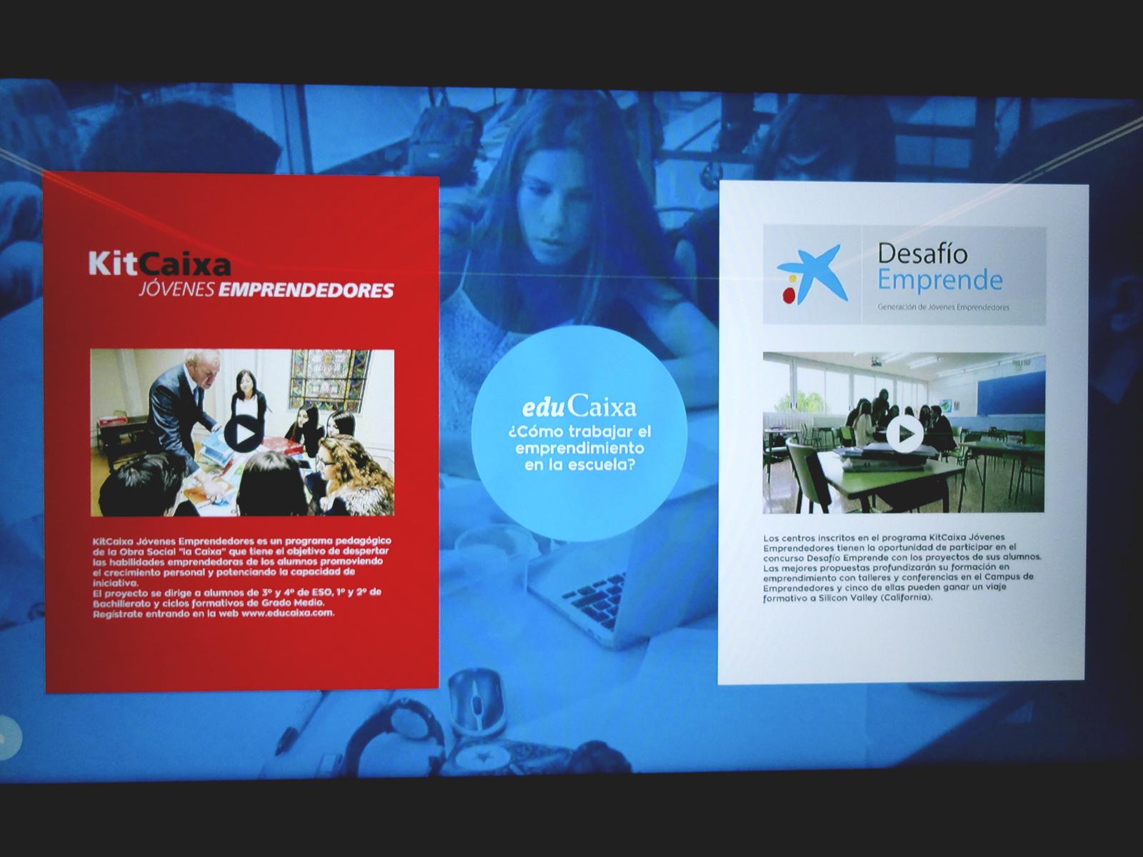 Projecte - Continguts per a l'exposició CaixaLab Experience - educació- Iuris.doc | Màrqueting de continguts