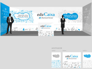 Disseny d'espais físics i materials per a EduCaixa | Iuris.doc – Màrqueting de continguts