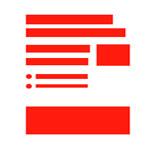 Web estructurada i separada per tal d'evitar paràgrafs llargs