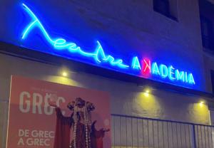 Façana del teatre Akademia
