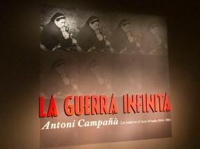 """Digitalitzant l'exposició """"La Guerra Infinita. Antoni Campañà"""""""